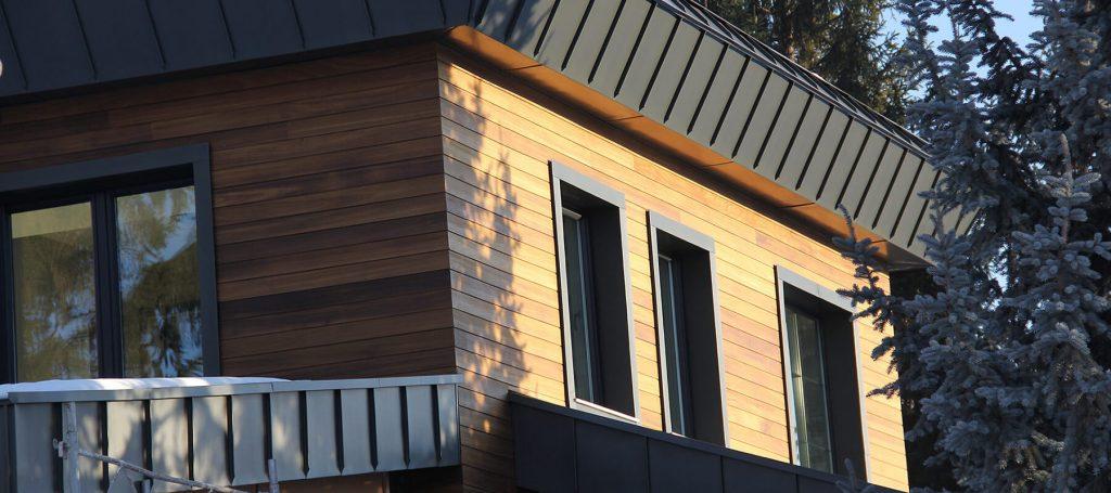 חיפויים מעץ תרמי חוץ ופנים הבית